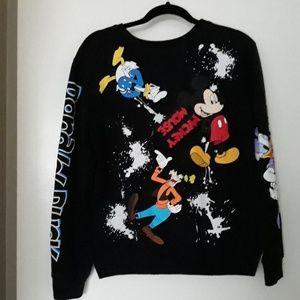 NWOT Disney Characters Crewneck Sweatshirt…